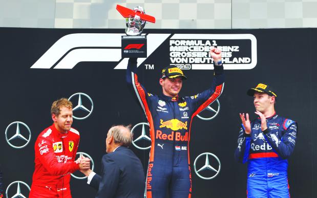 'CRAZY' WIN; Verstappen survives crash-marred race
