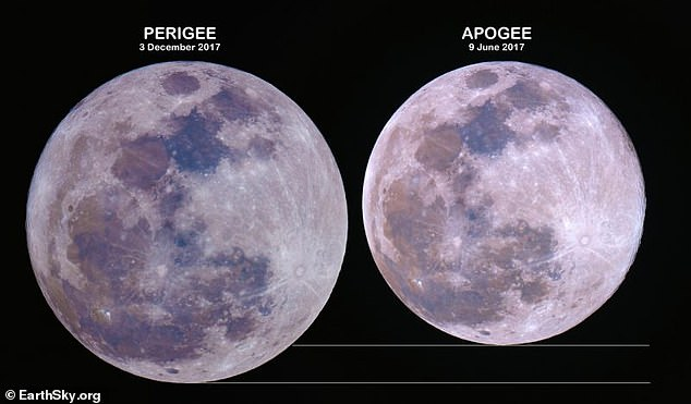 Lookout for tomorrow's rare 'black' supermoon over North America