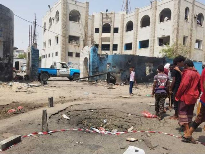 Houthi attack kills over 30 in Yemen's Aden, Saudi blames Iran