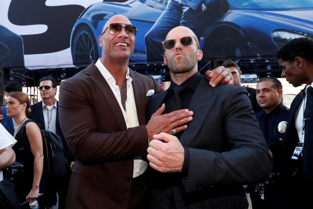 'Hobbs & Shaw' dethrones 'Lion King' to top North America box office
