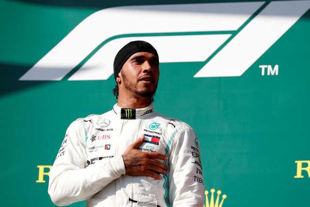 F1: Hamilton hunts down Verstappen to win in Hungary