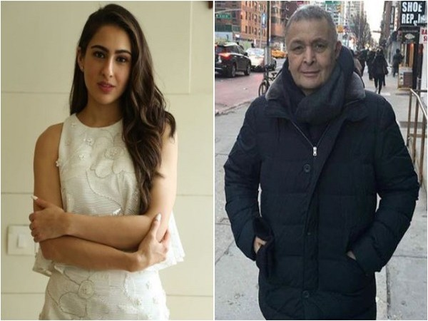 Rishi Kapoor is all praise for Sara Ali Khan