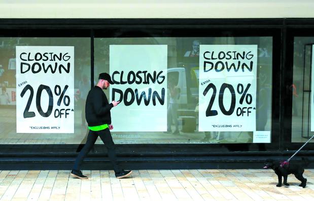 Britain empty shops hit highest rate since 2015