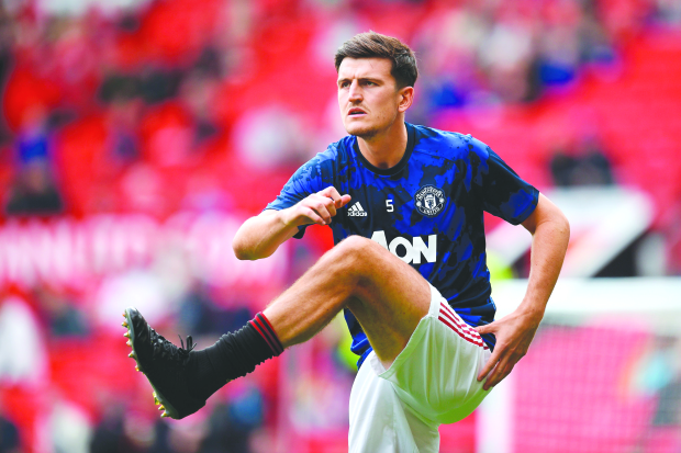 Maguire provides 'solid partnership'