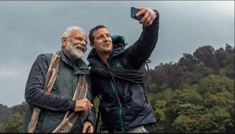 'Nature lover' Modi hits the small screen