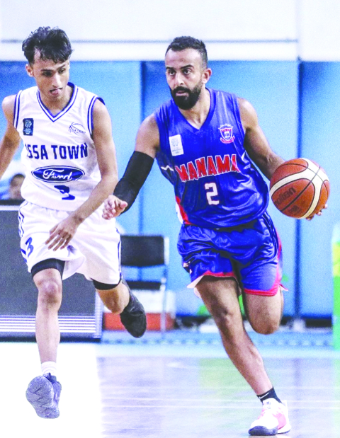 Manama ease past Isa Town
