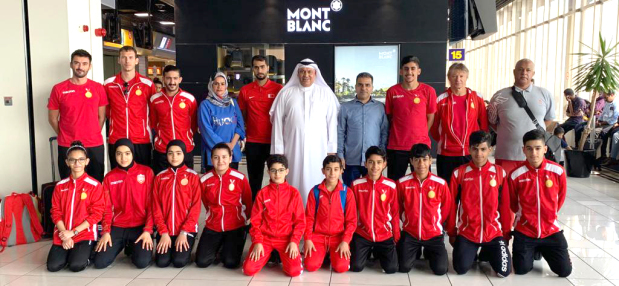 Table tennis team leaves for West Asian tournament