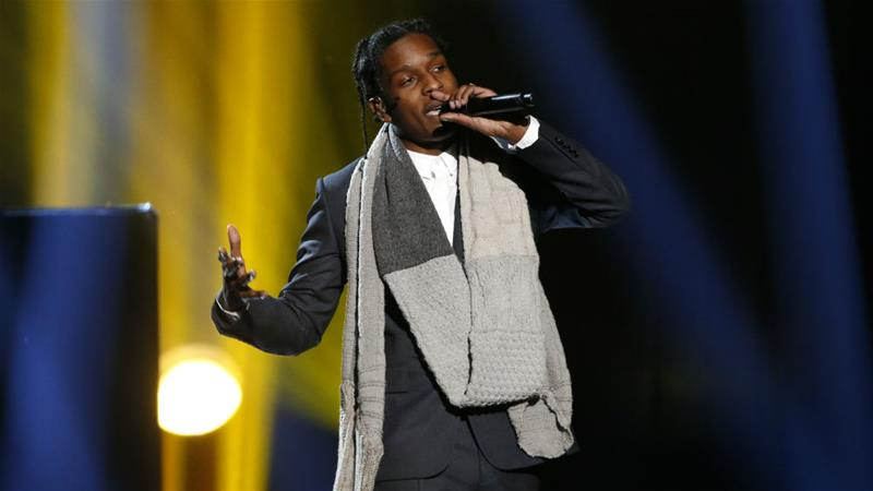 US Rapper A$AP rocky found guilty of assault in Sweden