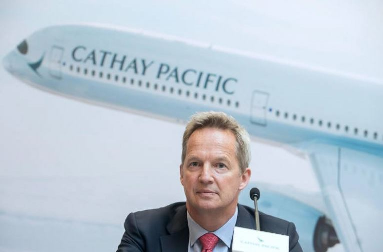 Cathay Pacific's CEO quits amid unrest