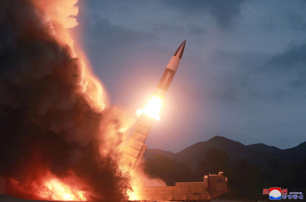 North Korea test fires two ballistic missiles