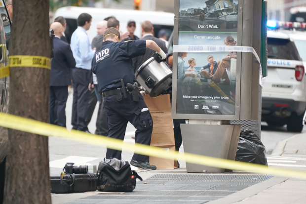 Empty rice cookers spark New York security scare