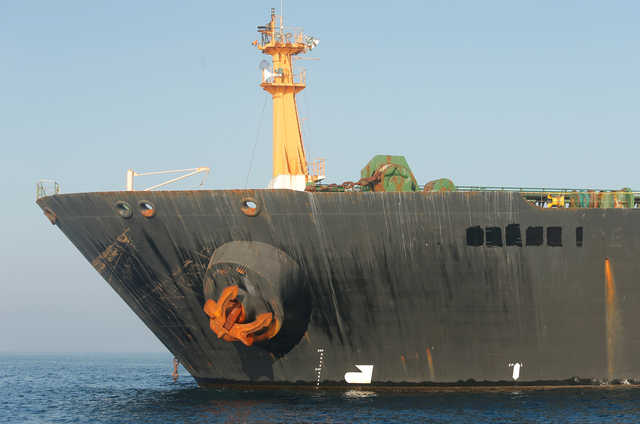 Iranian tanker 'unlikely' to leave before Sunday