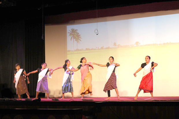 Youngsters present dance performances at the KCA event