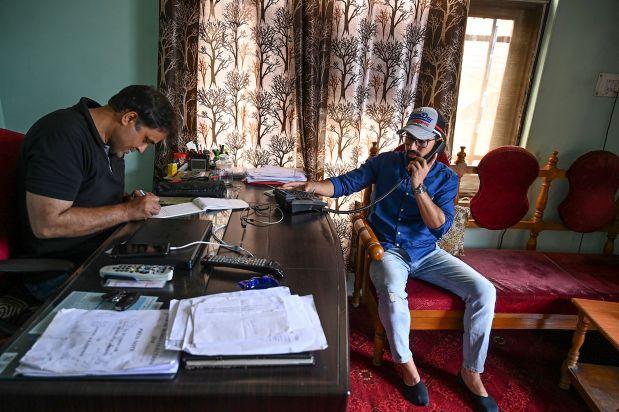 Some phones lines restored in Indian Kashmir
