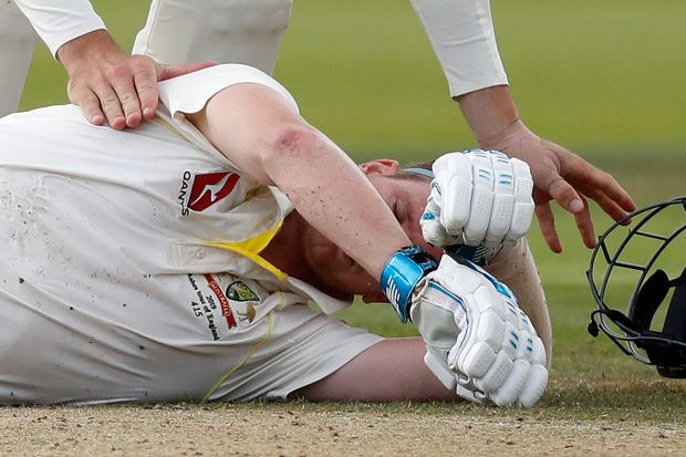 ASHES: Smith falls for 92 as Australia are dismissed for 250
