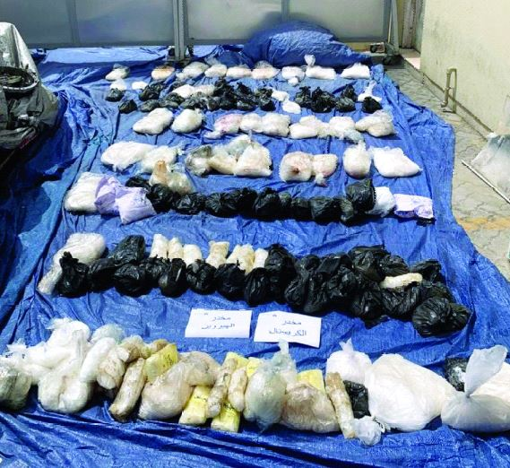 Attempt to smuggle drugs worth AED25 million foiled