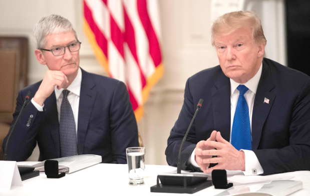 Apple 'will spend vast sums in US'