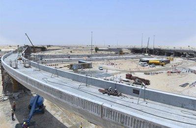 Dubai RTA completes 65pc of work on key intersection