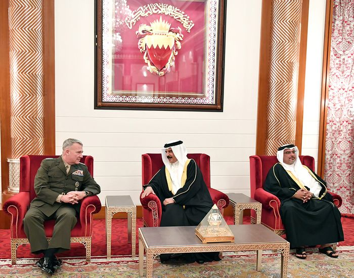 Bahrain 'will play its part in maritime security'