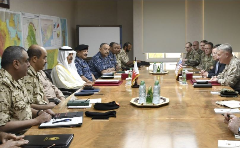 Defence Affairs Minister Lieutenant General Abdulla Al Nuaimi yesterday received General Kenneth F McKenzie, Commander of the US Central Command, and his delegation and commended strong military co-operation.