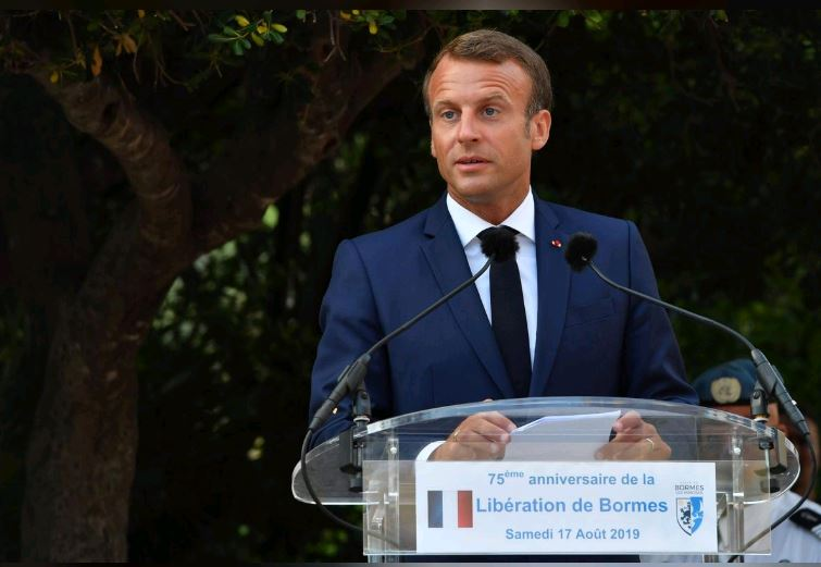 Macron to discuss Brexit with British Prime Minister Johnson on Thursday