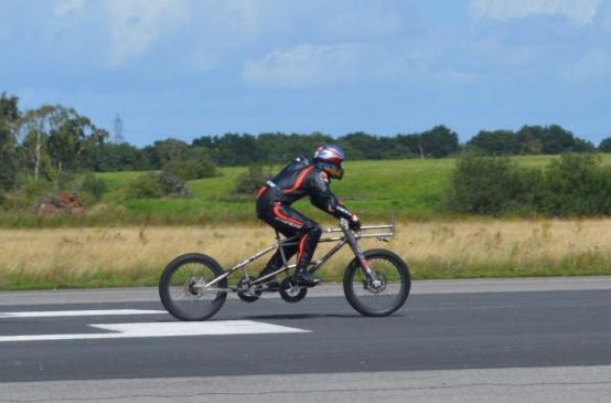 Campbell smashes cycling speed record at 174mph