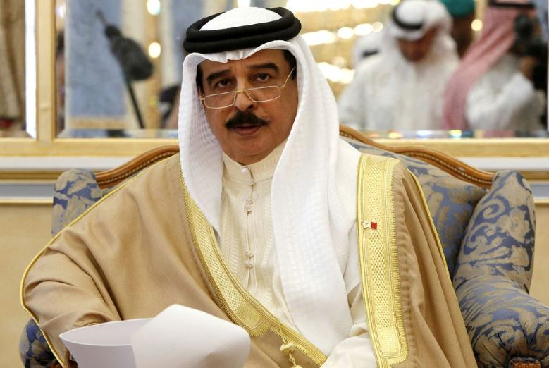 King Hamad thanked