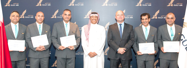 Long-serving Bahraini Gulf Air staff promoted
