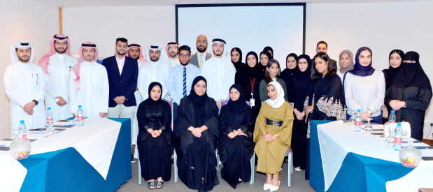 <p><em>The interns during the programme</em></p> <p>Twenty-eight undergraduate students from various local and international universities are taking part in Ithmaar Bank&rsquo;s internship programme.&nbsp;</p> <div></div> <div>The two-month programme includes an induction day that covers various training sessions, such as an introduction to information security, anti-money laundering and Sharia compliance, as well as an overview of the bank&rsquo;s various products and services in addition to on-the-job training.&nbsp;</div> <div></div> <div>The students were allocated to various departments in the bank based on their specialisations and interests, including retail banking, branch network, financial control, informational technology, banking operation, internal audit, legal affairs, Sharia, marketing and corporate communications and the human resources departments.&nbsp;</div> <p><em><br /></em></p>