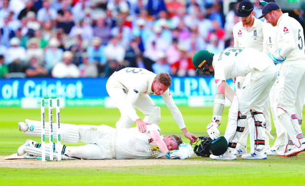 Neck guards may become compulsory for batsmen