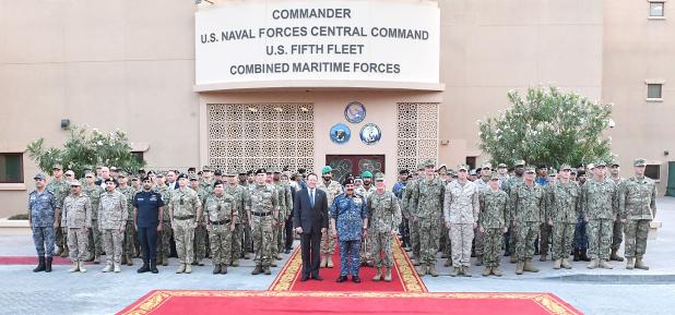 Navy's key role hailed