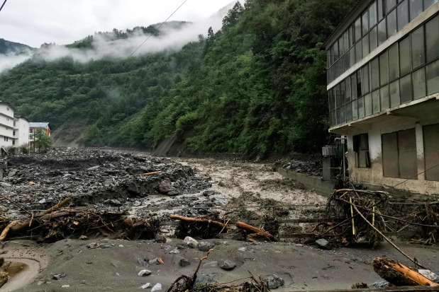 Scores missing after southwestern China hit by mudslides