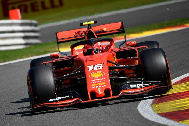 BELGIAN GP: Leclerc claims pole as Ferrari lock out front row
