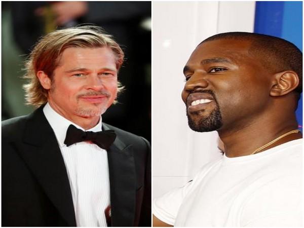 VIDEO: Brad Pitt attends Kanye West's Sunday Service