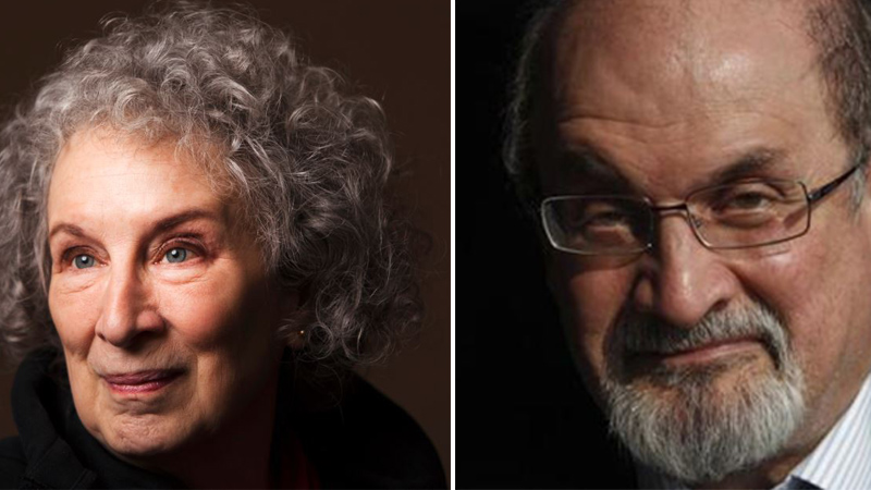 Salman Rushdie and Margaret Atwood head up 2019 Booker Prize shortlist