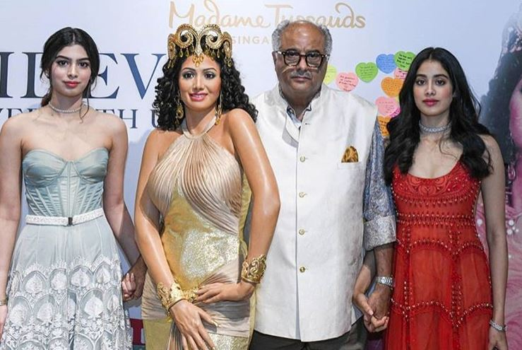 Bollywood: Sridevi's wax figure unveiled at Madame Tussauds Singapore