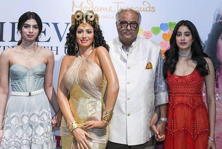 Sridevi's wax figure unveiled at Madame Tussauds Singapore