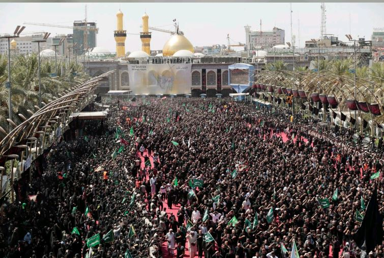 Stampede during Ashoura ritual leaves dozens dead