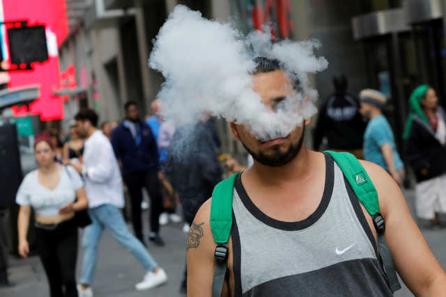 Vaping 'linked to mystery US illnesses'
