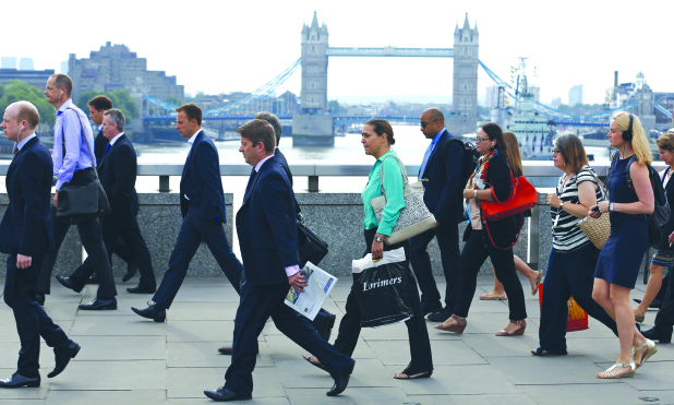 UK pay growth hits four per cent