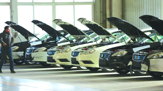 Chinese car sales fall 6.9pc