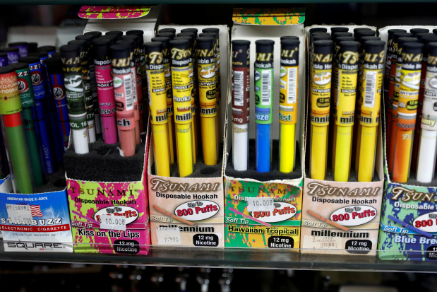 Trump administration seeks ban on flavoured e-cigarettes to combat youth addiction