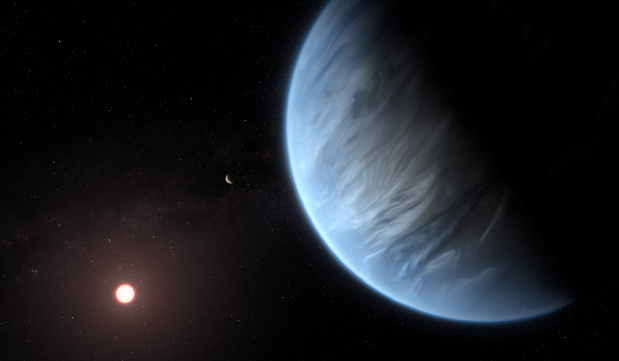Water found in atmosphere of earth-like planet beyond our solar system