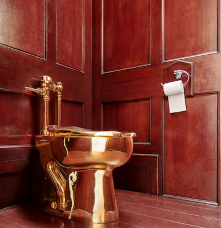 Thieves steal $5 million gold toilet from Britain's Blenheim Palace