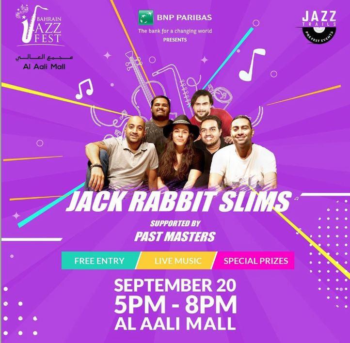 Jack Rabbit Slims lining up jazz treat
