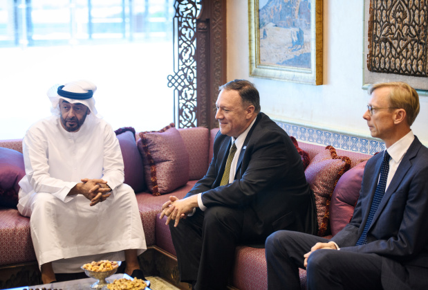 Pompeo visits UAE and Saudi to weigh response to oil facilities attack