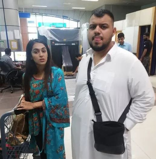 British couple caught at Sialkot airport trying to smuggle 25kg heroin