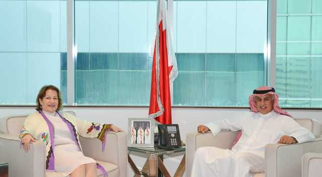 <p>Industry, Commerce and Tourism Minister Zayed Alzayani yesterday received Egyptian Ambassador Soha Ibrahim Rifaat and reviewed ties and means of boosting co-operation especially in the economic, investment and tourism fields.</p>