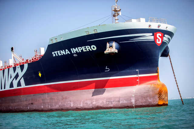 Iran says seized British-flagged tanker free to leave