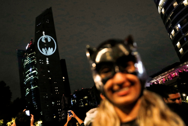 IN PICTURES: Cities summon Batman on his 80th anniversary